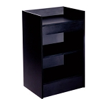 Cash Register Stand 2' Black