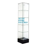 Frameless Tower Case With Front Swing Door