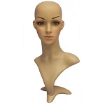 Female Mannequin Head Display