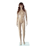 Female Full Body Mannequin With Head In Fleshtone Color