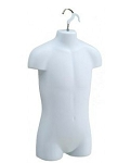 Child Mannequin Hanging Torso White