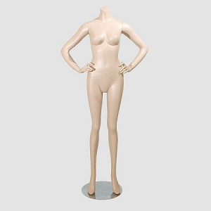 Female Mannequin Headless Fleshtone