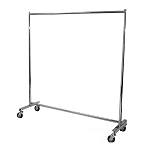 HEAVY DUTY Single Bar Clothing Rack