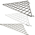 GRIDWALL TRIANGLE CORNER SHELF